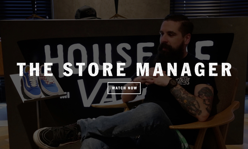 Vans careers work with us - Store manager